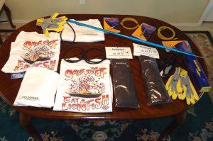 Foldspear Polespear Tournament prizes