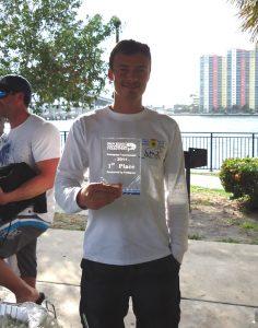 First Place winner Yury Bylina